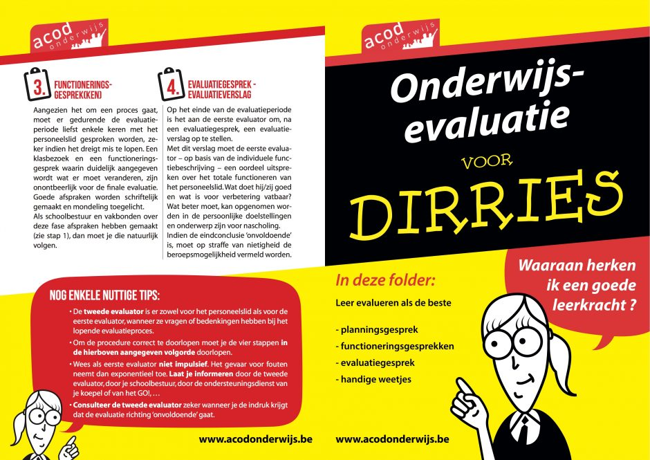 Evaluatie voor dirries
